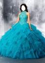 Aqua Princess Dress