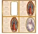Cc calendario virgen de Guadalupe