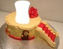 Gâteau avec escalier