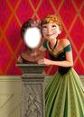Frozen Anna et le buste