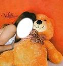 Este el osito de vilu para que te hagas pasar por vilu con su oso !