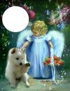 furrr baby with tiny angel