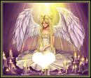 ANGEL & CANDLES