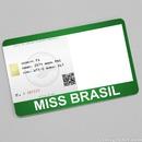 Miss Brazil Card