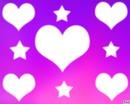 coeur plus étoile