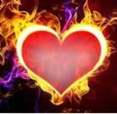Coração de fogo 1 foto