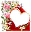 Le coeur fleuri