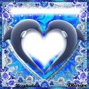 Coeur en cadre