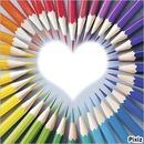 le crayon de coeur