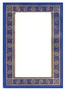 Blue AND Gold Frame