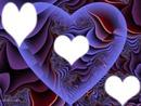 Coeur d'amour ou d'amitier
