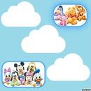 mickey winnie nuage