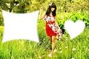 Anissa Chibi In Garden