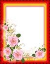 Cc marco con rosas