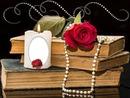 Cc Libros rosas vela