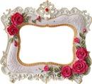 cadre fleuré