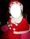 costume Noël rouge avec bonnet