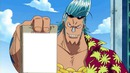 One Piece Franky Poster