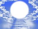 Escalier vers le ciel - nuages