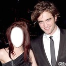 Avec Robert Pattison