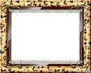 cadre peau de leopard