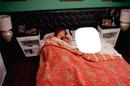 en la cama con majida