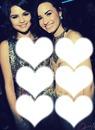 Demitria Lovato Selena Gomez