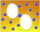 Cadre perles & fleurs