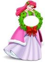 princesa ariel navidad