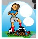 foot féminin