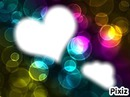 bulles multicolores