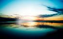 plage & coucher du soleil
