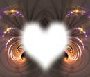 Herz im Glizer