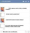 Chat falso por facebook con Mercedes Lambre