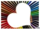 crayon couleur coeur