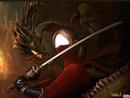 la femme au dragon