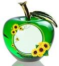 Cc Manzana verde con girasoles