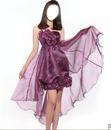 robe poubre soireé