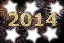 nouvel an 2014 feu d'artifice