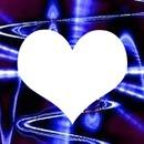 coeur bleu love