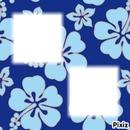 bleu motif