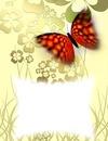 Papillon-trèfles à 4 feuilles
