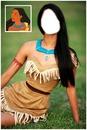 Seu Rosto No corpo da Pocahontas!