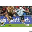 messi & le lion