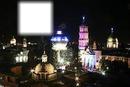 hermosa vista nocturna de Celaya, Guanajuato