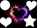 Corazón de llama