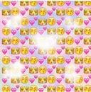 princesita emoji de 5 corazones