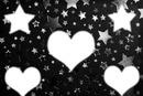 estrelas e corações