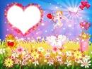 Cupidon avec coeur