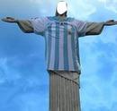 cristo redentor camiseta argentina